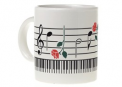 Mug: Keyboard With Rose