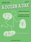 A Dozen A Day Bk 1 (Bk/Cd)