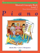 Musical Concepts Book Lev 2