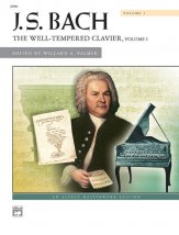 Well-Tempered Clavier Vol 1 (Spiral Bnd)