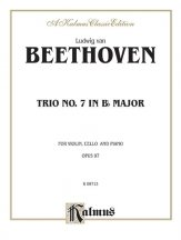 Beethoven: Trio No. 7, in B flat Major, Op. 97 (for piano, violin, and cello)