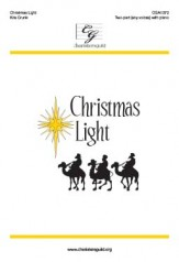 Christmas Light Sheet Music by Kris Crunk (SKU: CGA1372) - Stanton's ...