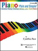 Piano Plain and Simple Vol 1 (Bk/Cd)