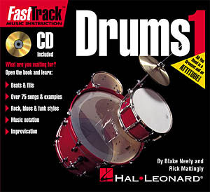 Fast track drums 1 sheet music by neely mattingly sku for Fast house music