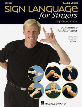 SIGN LANGUAGE FOR SINGERS (BK/DVD)