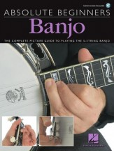 Absolute Beginners Banjo (Bk/Cd)