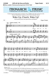 Wake Up Church Wake Up