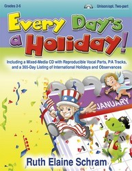 Every Day's A Holiday (Bk/Cd)