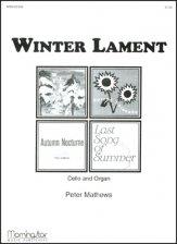 WINTER LAMENT (W/ORGAN)