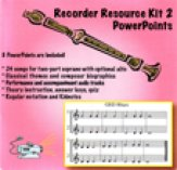 Recorder Kit 2 W/Powerpoints/Notebook