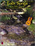 Folk Songs For Solo Guitar (Bk/Cd)
