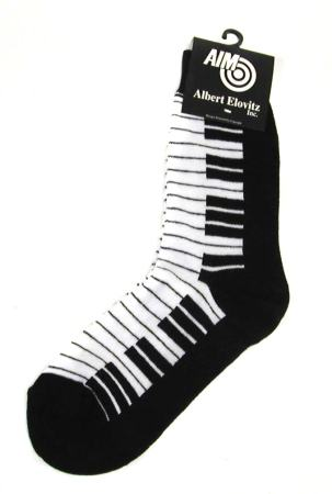 Socks: Keyboard In Black and White