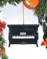 Ornament: Upright Piano (Black)