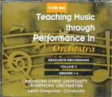 Teaching Music Through Perf/Orch V3cd