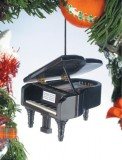 Ornament: Grand Piano (Black)