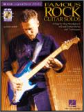 Famous Rock Guitar Solos (Bk/Cd)
