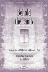 behold the lamb sheet music pdf