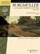 Eighteen Character Studies Op 19 (Bk/Cd)