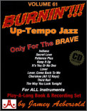 Burnin' Up-Tempo Jazz Standards Vol 61