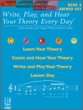 Write Play And Hear Your Theory Bk 4 Ans