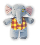 Plush Animal: Elgar E Elephant