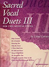 Sacred Vocal Duets Vol 3