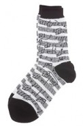 Socks: Sheet Music In Black