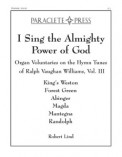 I Sing The Almighty Power of God Vol III