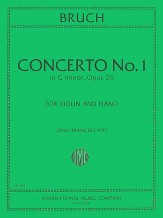 Concerto #1 In G Minor Op 26