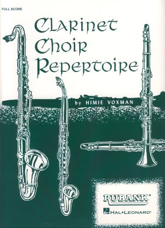 Clarinet Choir Repertoire-Score