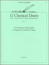 12 Classics Duets (from 24 Duettos In An Easy, Pleasing Style)