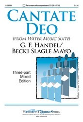 Cantate Deo (From Water Music)