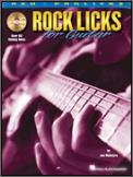 Rock Licks For Guitar (Bk/Cd)