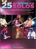 25 Great Classic Rock Guitar Solos (Bk/C