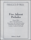 Five Advent Preludes