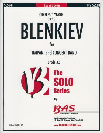 Blenkiev For Timpani and Concert Band