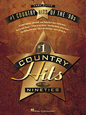 #1 COUNTRY HITS OF THE 90'S