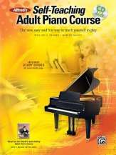 Self-Teaching Adult Piano Course (Bk/Cd)