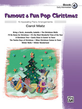 Famous & Fun Pop Christmas Bk 4