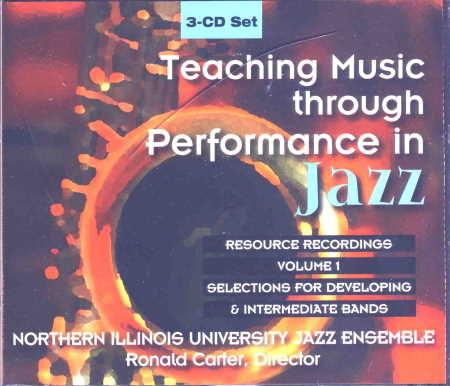 Teaching Music Through Perf/Jazz (Cds)