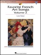 Favorite French Art Songs Vol 2 (Bk/Cd)