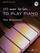 It's Never Too Late To Play Piano (Bkcd)