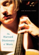 HARVARD DICTIONARY OF MUSIC, THE