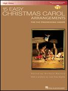 15 EASY CHRISTMAS CAROL (BK/CD)