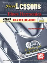 First Lessons Blues Harmonica (Bk/CD/Dvd