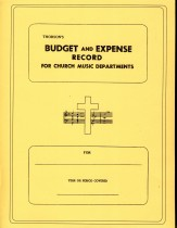 Budget and Expense Record