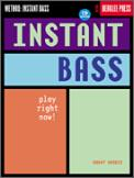 Instant Bass (Bk/Cd)