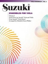Suzuki Ensembles For Viola Vol 2