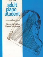 Adult Piano Student Lev 1