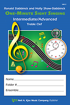 One-Minute Sight Singing Interm/Advanced